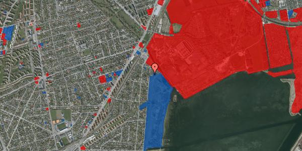 Jordforureningskort på Nordre Kystagervej 7, 2650 Hvidovre