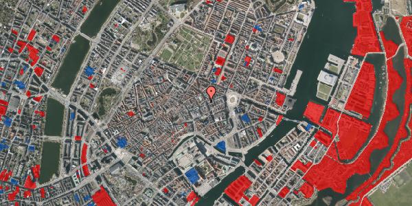Jordforureningskort på Kristen Bernikows Gade 13, 1105 København K