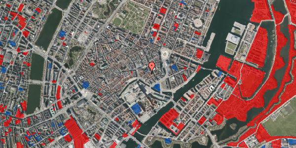 Jordforureningskort på Nikolaj Plads 25B, 3. tv, 1067 København K