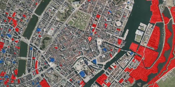 Jordforureningskort på Pilestræde 14E, 1112 København K