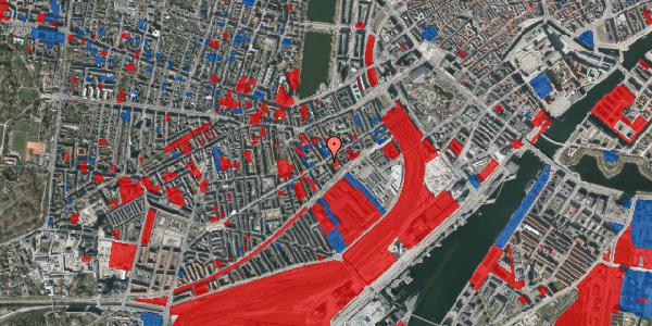 Jordforureningskort på Istedgade 31, 1650 København V