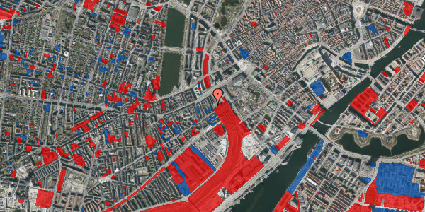 Jordforureningskort på Reventlowsgade 1B, 1651 København V