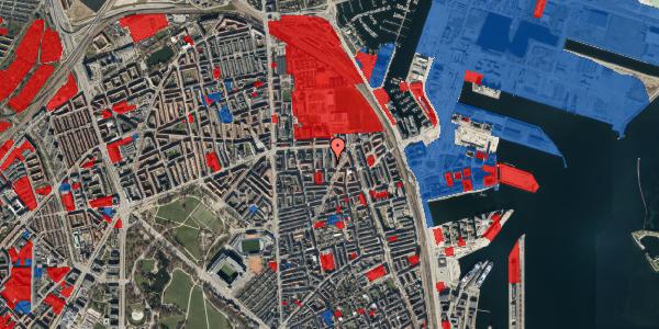 Jordforureningskort på Svendborggade 1, 2. 215, 2100 København Ø