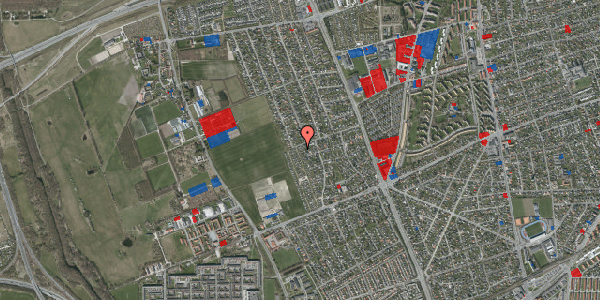 Jordforureningskort på Hf. Dahlia 52, 2650 Hvidovre