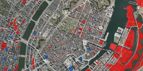 Jordforureningskort på Møntergade 21, 1116 København K