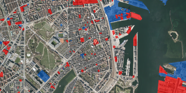 Jordforureningskort på Strandboulevarden 47B, 2100 København Ø