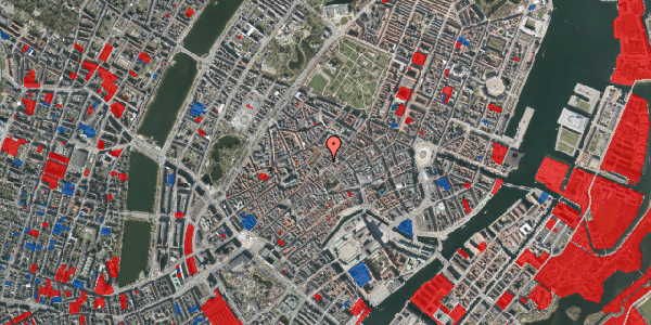 Jordforureningskort på Niels Hemmingsens Gade 32A, 3. th, 1153 København K