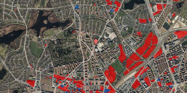 Jordforureningskort på Peter Rørdams Vej 2A, 1. 7, 2400 København NV