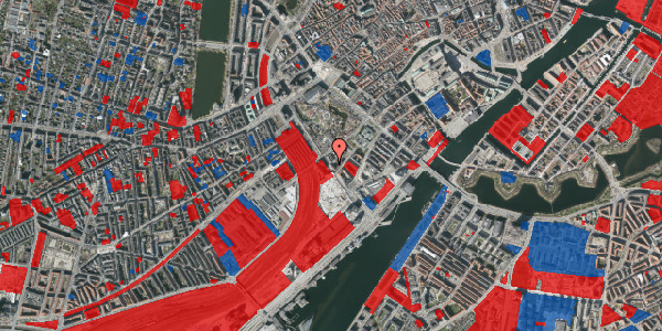 Jordforureningskort på Bernstorffsgade 17, 3. , 1577 København V