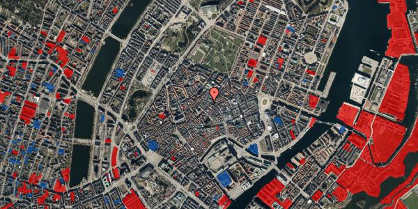 Jordforureningskort på Løvstræde 1, st. , 1152 København K