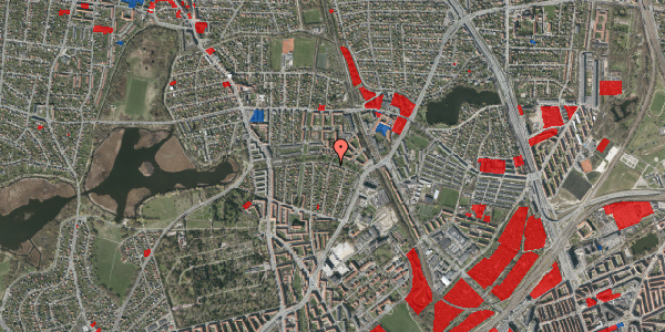 Jordforureningskort på Pernillevej 26, 2. , 2400 København NV