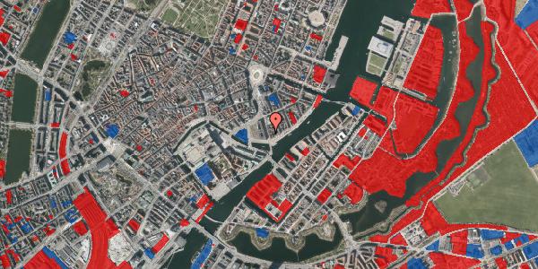 Jordforureningskort på Niels Juels Gade 13, 1059 København K
