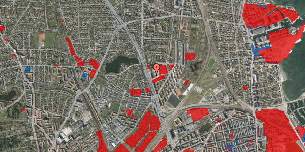 Jordforureningskort på Gartnerivej 1A, st. 6, 2100 København Ø
