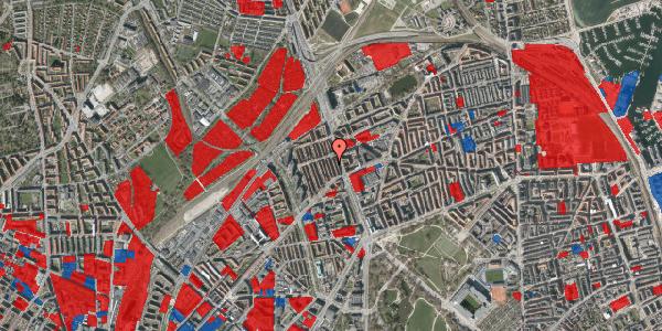 Jordforureningskort på H.P. Ørums Gade 21, 2100 København Ø