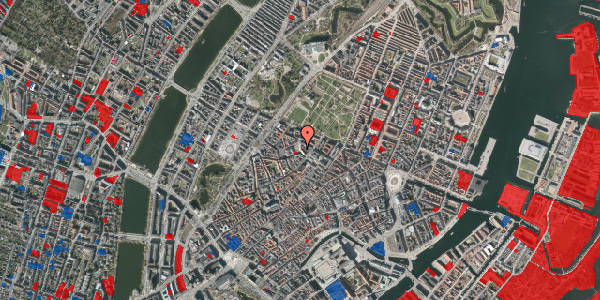 Jordforureningskort på Hauser Plads 16A, kl. 1, 1127 København K