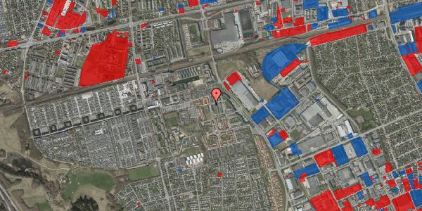 Jordforureningskort på Hvidkløvervænget 3, 2625 Vallensbæk