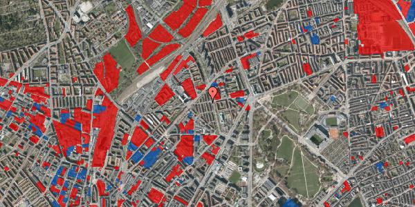 Jordforureningskort på Aldersrogade 17, 2100 København Ø