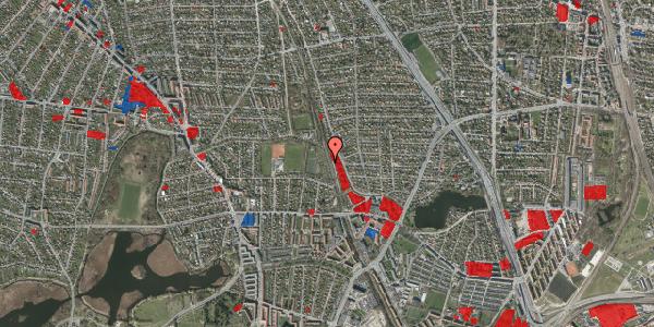 Jordforureningskort på Rødhalsgangen 9, 2400 København NV