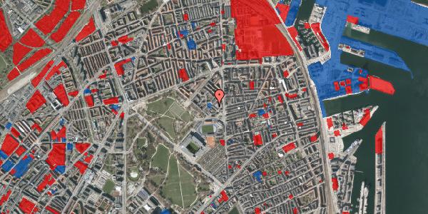 Jordforureningskort på Østerfælled Torv 24, 2100 København Ø