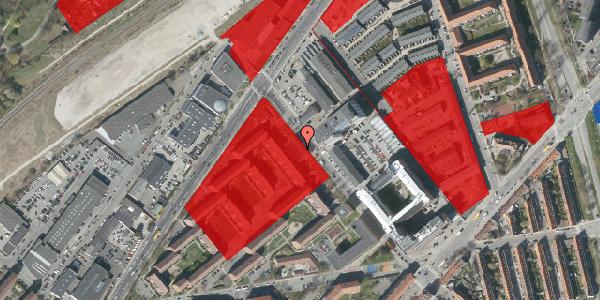 Jordforureningskort på Vermundsgade 43A, 2100 København Ø