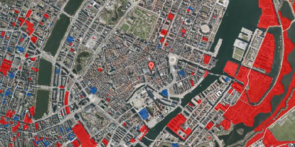 Jordforureningskort på Østergade 59, 1. , 1100 København K