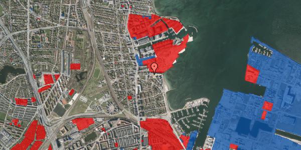 Jordforureningskort på Scherfigsvej 9, 2100 København Ø