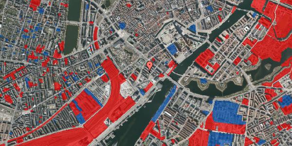 Jordforureningskort på Anker Heegaards Gade 6, 1572 København V
