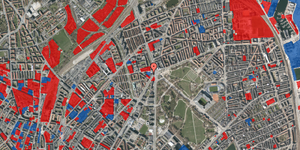 Jordforureningskort på Jagtvej 169B, st. th, 2100 København Ø