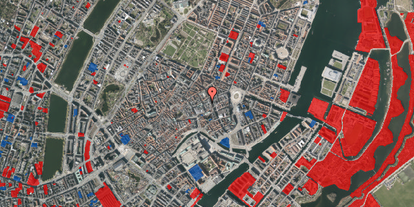 Jordforureningskort på Pilestræde 14A, 1112 København K