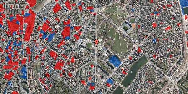 Jordforureningskort på Nørre Allé 57, 2100 København Ø
