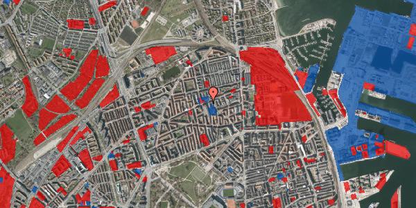 Jordforureningskort på Masnedøgade 32, st. th, 2100 København Ø