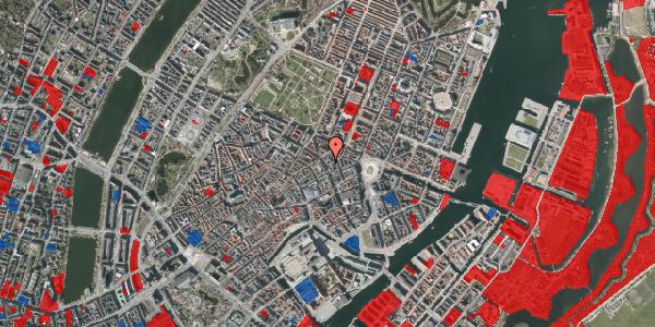 Jordforureningskort på Gammel Mønt 2, 1117 København K