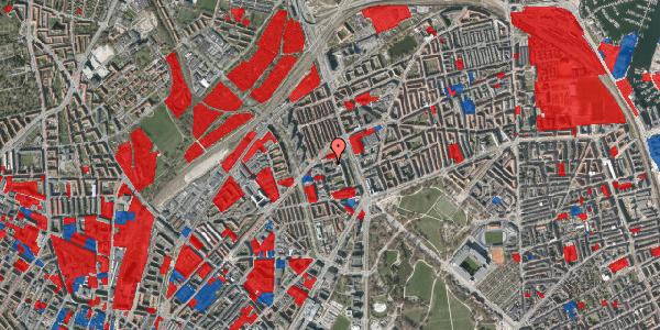 Jordforureningskort på Ragnagade 9, 1. 4, 2100 København Ø