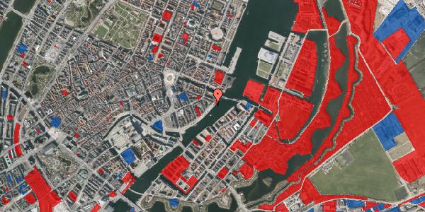 Jordforureningskort på Havnegade 44, 1. , 1058 København K