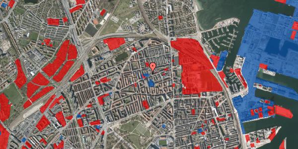 Jordforureningskort på Nygårdsvej 30B, 1. , 2100 København Ø
