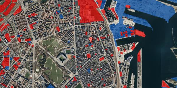 Jordforureningskort på Viborggade 46, 2100 København Ø