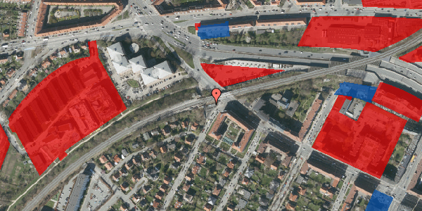 Jordforureningskort på Solsortvej 125B, 2000 Frederiksberg