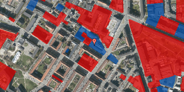 Jordforureningskort på Theklavej 10, 2400 København NV