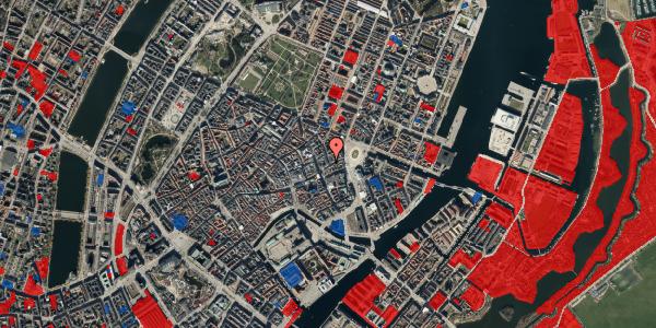 Jordforureningskort på Ny Østergade 1, 3. , 1101 København K
