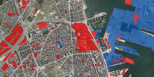 Jordforureningskort på Carl Nielsens Allé 9C, 1. , 2100 København Ø