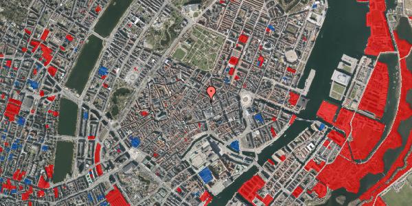 Jordforureningskort på Silkegade 3C, 3. , 1113 København K