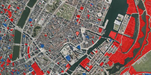 Jordforureningskort på Bremerholm 6, 4. th, 1069 København K