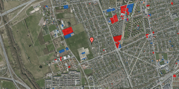 Jordforureningskort på Hf. Dahlia 70, 2650 Hvidovre