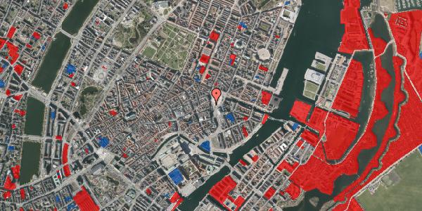 Jordforureningskort på Kongens Nytorv 21F, 1050 København K