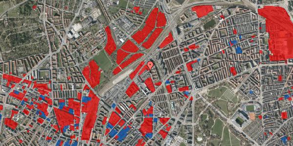 Jordforureningskort på Emblasgade 47, 1. th, 2100 København Ø