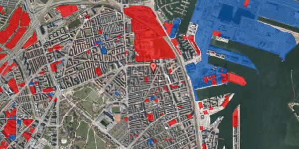 Jordforureningskort på Fåborggade 2, 2100 København Ø