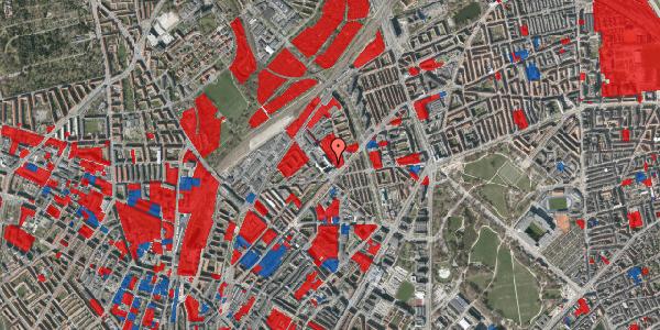 Jordforureningskort på Vermundsgade 38E, 1. tv, 2100 København Ø