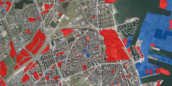 Jordforureningskort på Thomas Laubs Gade 10A, 1. , 2100 København Ø