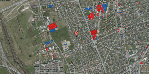 Jordforureningskort på Hf. Dahlia 36, 2650 Hvidovre