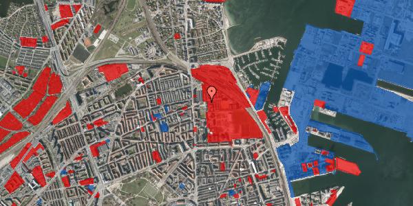 Jordforureningskort på Carl Nielsens Allé 9D, 1. , 2100 København Ø